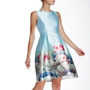 Beautiful fit and flare floral dress